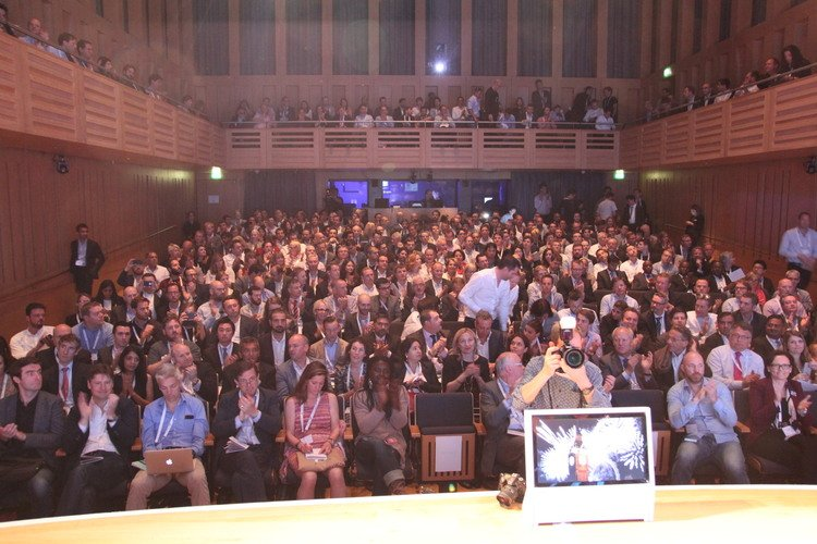 Barclays Techstars Demo Day audience