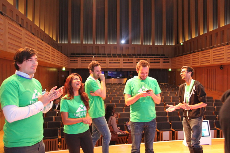 Barclays Techstars Demo Day team